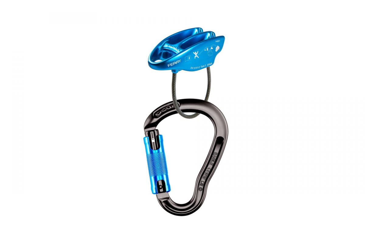 BELAY SET EAGLE Triple/FERRY::Antr/Blue:: Ocún