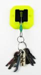 Věšák na klíče Rainbow Wedge s klíčenkou Kouba